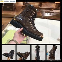 exportação de sapatos de couro venda por atacado-BNOY Hot Hot Sell Export Homens Mulheres Botas de couro Botas Botas Sapatos de couro Salto Alto Caixa de presente