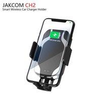 smartphone-dock großhandel-JAKCOM CH2 Smart Wireless Auto Ladegerät Halterung Heißer Verkauf in Handy-Ladegeräte als Antennen wifi Smartphone Flip Armbänder