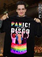 chaqueta de elección al por mayor-¡Pánico! en la discoteca El amor no es una opción Camiseta con capucha camiseta hip hop chaqueta de cuero de Croacia Camiseta de denim camiseta camiseta