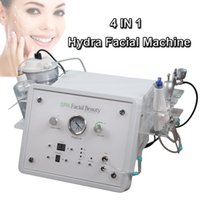 переносные кислородные машины оптовых-Портативный мини гидро лицевая машина микро дермабразия оборудование для инъекций кислорода био лифт машина для лица бесплатная доставка