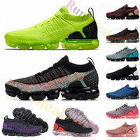 fliegen schuhe frauen großhandel-New Fly 3.0 Air 2.0 Triple Black Volt Herren Laufschuhe Tiger Zebra Gym Red Damen Atmungsaktiv Jogging Outdoor Sports Sneakers Trainer us 12