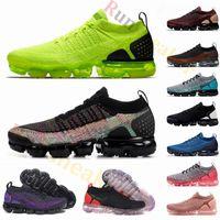 koşu ayakkabıları toptan satış-Yeni Fly 3.0 Hava 2.0 Üçlü Siyah Volt Erkekler Koşu Ayakkabıları Tiger Zebra Spor Kırmızı Bayan Nefes Koşu Açık Spor Sneakers Eğitmenler abd 12