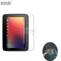 nexus displayschutzfolien großhandel-2 Stück viel weiche Folie für Google Nexus 10 10.0 Pad Tablet PC Displayschutzfolie