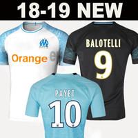 ccbd1b0f0 Wholesale soccer jerseys online - 2018 Olympique de Marseille BALOTELLI  Soccer jerseys Maillot De Foot PAYET
