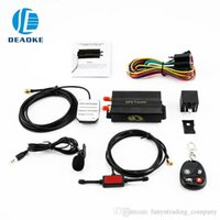 Wholesale gps united states for sale - Group buy Car gps tk103b gsm gprs gps tracking remote control for car truck vehicle cut off car engine trackherhome app gps tracking