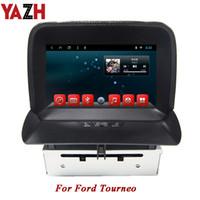 carro gps 2gb mp3 venda por atacado-YAZH Em-traço 1080 * 600 auto rádio Receiver Stereo Car DVD para display LCD GPS Navigation 2GB 32GB TFT Android Ford Tourneo 8,0 polegadas