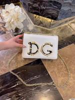 party umschlag geldbörse großhandel-DolceGabbana Frauen Damen Glitter Pailletten Handtasche Sparkling Party Abend Umschlag Clutch Bag Wallet Tote Purse