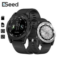 Wholesale turkish watch men for sale - Group buy ESEED SW98 Smart watch men support TF SIM Card Pedometer Camera mah Bluetooth Smartwatch for Android PK dz09 B57 watch