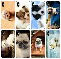 Wholesale iphone 5c clear edge case online – custom TongTrade Teo Jasmin New Black Cute Dog Case For iPhone Pro X XS Max s s c Plus Samsung S6 S7 Edge Honor C Pro Redmi Note Case