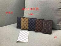 Wholesale clutches for men resale online - Brand Designer Women passport cover credt card holder men business travel passport holder wallet covers for passports carteira masculina