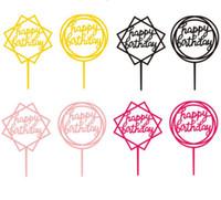 ботинки оптовых-Письма Торт Toppers Симпатичные Украшения Торта Кекс Toppers Детские День Рождения Украшения Выпечки Инструменты Бесплатная Доставка