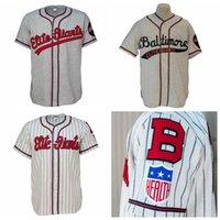 camisola de elite masculina venda por atacado-Personalizado Baltimore Elite Giants 1949 Estrada Jersey Homens Mulheres Juventude Qualquer Nome Qualquer Número Frete Grátis Tamanho S-4XL