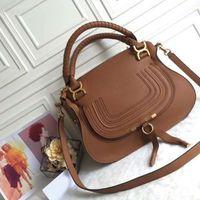 Wholesale fashion design paris for sale - Group buy Genuine Leather Paris Fashion Classic Design Marcie Medium Satchel Bag New Medium Marcie Leather Satchel Tote Handbag