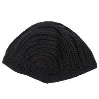 ingrosso vecchio lavorato a maglia-OLD STREET Cornrows Cap per più facile cucire nella parrucca intrecciato Caps per fare parrucca Glueless Hair Net Liner Crochet Wig Caps (S / M / L)
