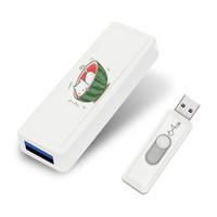 ручка 128 gb оптовых-Персонализированные Pendrive 128 ГБ флэш-накопитель Push and Pull 64 ГБ Pen Drive U Stick 128 ГБ USB флэш-накопители на день рождения свадебный подарок