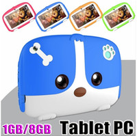 Wholesale Kids Tablet PC quot inch Quad Core children tablet Android Allwinner A33 google player MB GB RAM GB ROM wholesaleprice