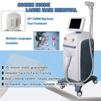 Wholesale w laser resale online - china market NEWEST laser hair removal equipment nm laser hair removal w vertical nm diode laser machine