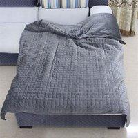 battaniye yorgan örtüsü toptan satış-Çıkarılabilir Nevresim için Ağırlıklı Battaniye İç Katman Ultra Yumuşak Sıcak Konfor 92x122 cm 122x183 CM 152x203 CM Yaz Yatak Örtüsü