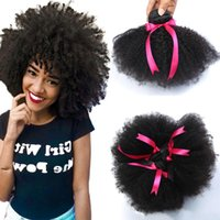 Wholesale afro curly weave human hair for sale - Group buy 8A Mink Peruvian Afro Kinky Curly Hair Wave Bundles Peruvian virgin Afro Kinky Curly Human Hair Extensions peruvian Afro Kinky Virgin Hair