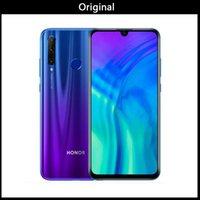 huawei telefones celulares na índia venda por atacado-Original Huawei Honor 20i 4G LTE telefone móvel esperto 6GB RAM 64GB 256GB ROM Kirin 710 Octa Núcleo 6,21
