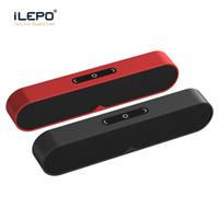 altavoz bluetooth cisne al por mayor-Altavoces estéreo Bluetooth F1 PLUS altavoz inalámbrico portátil Sistema de sonido 3D Tarjeta TF de la ayuda Bluetooth Surround AUX