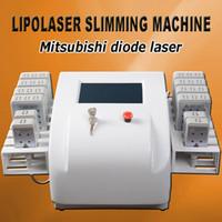 máquinas de adelgazamiento láser para el hogar al por mayor-Máquina de lipólisis láser diodo láser lipo lipólisis láser que adelgaza el cuerpo que adelgaza el sistema de la máquina para uso en el hogar