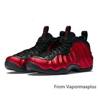 Wholesale kids winding toys resale online - Cheap Penny Hardaway Posite basketball shoes Pearl Pink Red Black Boys Girls Youth Kids foams one pro sneakers tennis with box size