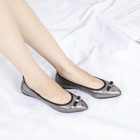 98af7454d1e8fe new pearl chain beads with rhinestone sandals flat heel flip flops fashion  sexy women sandals shoes ePacket Free Shipping wl18081201. 10% Off