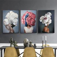 cuadros de calidad lienzo al por mayor-Venta caliente impresa 1PC Poster Painting Wall Art Canvas Wall Picture Creativo Decoración de alta calidad para el hogar Sin marco para sala