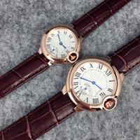 modèle hot men black achat en gros de-2019 Top montres en cuir de marque de mode pour homme / femme noir / brun montre-bracelet livraison gratuite montres chaudes vente nouveau modèle