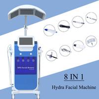 ingrosso sistema ossigeno-Macchina Hydrafacial Macchina per la dermoabrasione idratante per il miglioramento della pelle 8 in 1 Oxygen Jet Peel Water Dermoabrasione Hydra Facial system