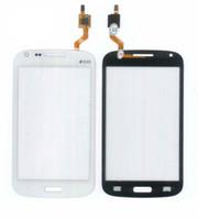 сенсорный экран samsung duos оптовых-10 ШТ. Для Samsung Galaxy Core i8260 i8262 Duos GT 8262 4.3 Сенсорный Экран Digitizer Датчик Переднее Стекло Панель Объектива Черный Белый