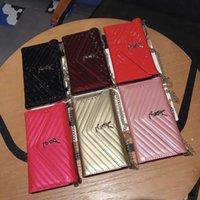 металлические флип-чехлы оптовых-Новый бренд дизайн металлический логотип флип-кошелек кожаный чехол чехол для телефона для iphone XS max Xr X 7 7plus 8 8plus 6 6plus с гнездом для карты