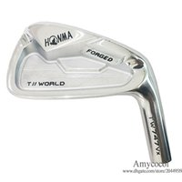 New Clubs Golf head HONMA TW747 Vx Golf irons 4-11 Irons Set 8pcs Lot No shaft FORGED Silver Clubs Irons head Free shipping