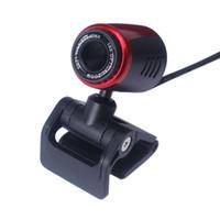 pc kameralı sıcak toptan satış-2019 Ecosin YENI Sıcak Satış USB 2.0 HD Webcam Kamera Web Kamera Bilgisayar PC Laptop Için Mic Ile Masaüstü # SS
