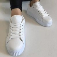 Wholesale lighting fenty shoes for sale - Group buy 2020 New Charity Fenty Suede Cleated Creeper Womens Fenty Creepers By Rihanna Shoes Casual shoes SIZE