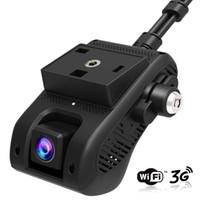 Wholesale car remote dvr resale online - EdgeCam Pro G Car DVR Dash Camra Car Camera With HD P Dual Camera GPS Tracker Remote Monitoring Live Streaming
