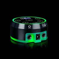 pedal satışları toptan satış-Sıcak Satış Dokunmatik Ekran Dövme Güç Kaynağı Klip Kordon Pedalı Kablo Ayarları Siyah Dövme Döner Bobin Makinesi için