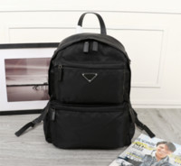 Wholesale casual backpacks resale online - 2020 P home new men backpack parachute nylon tarps casual canvas bags men short business trip backpack
