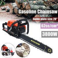 Wholesale pricing engine for sale – custom New Professional Chainsaw quot W Bar Gas Gasoline Powered Chainsaw cc Engine Cycle Chain Saw with Cheaper Price