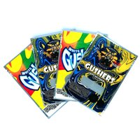 White gusher Bag exotics GUSHERS 3.5 Grams mylar smell proof bags zipper lock Vape accessories DHL Free