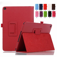Wholesale smart pad china resale online - Litchi PU Leather case Smart Cover For ASUS ZenPad Zen Pad S Z500 Z500M tablet case Protective shell Pen