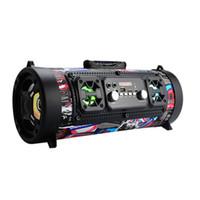 alto-falante ktv venda por atacado-20 W Hifi Portátil Bluetooth Speaker FM Radio Mover KTV 3D sistema de Som subwoofer bar de Som Coluna Portátil Bluetooth Alto-falantes FM rádio
