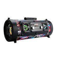 lautsprecher ktv großhandel-20W Hifi Tragbarer Bluetooth Lautsprecher FM Radio Move KTV 3D Soundsystem Soundbar Subwoofer Tragbare Säule Bluetooth Lautsprecher FM Radio