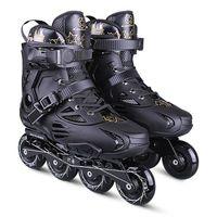 мужские линейные коньки оптовых-Japy Skate Inline Slalom Skate Обувь для роликовых коньков для взрослых Inline Skates Профессиональные патины для уличного катания на коньках Мужчины Женщины