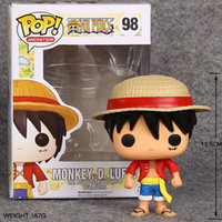 Wholesale chopper anime for sale - Group buy One Piece Tony Chopper Portgas D Ace Funko Pop Anime Figure Valentine s Day Gifts Toys Birthdays