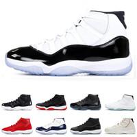 new styles 1f133 f8872 women retro sneakers al por mayor-Air jordan retro 11 Concord 45 Zapatillas  de baloncesto