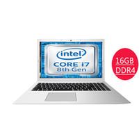 computadora central i5 al por mayor-15.6inch Intel 8550U octava generación portátil de 4 núcleos 8-hilos 16 GB de RAM DDR4 1 TB SSD de aluminio ordenador portátil para juegos