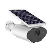 kamera güneş paneli toptan satış-2019 YENI Güneş Paneli kamera açık Powered Wifi Pil CCTV Kamera Kablosuz Açık Güvenlik IP Kamera