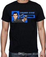 ingrosso grande spia-Archer Support Dropship Zone Divertente Spy Factory Outlet Maglietta T-shirt Uomo Man cotone manica corta girocollo in cotone Big Size Uomo